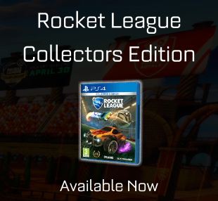 Buy the physical edition of Rocket League now!