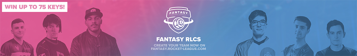 Fantasy RLCS - Create your team now on fantasy.rocket-league.com