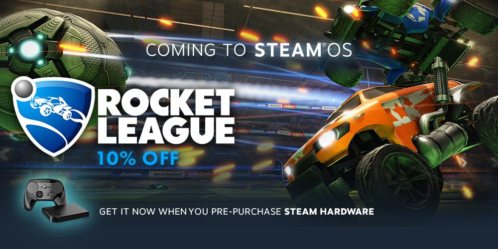 Rocket League is coming to Steam OS/Mac! | News | Rocket League Garage